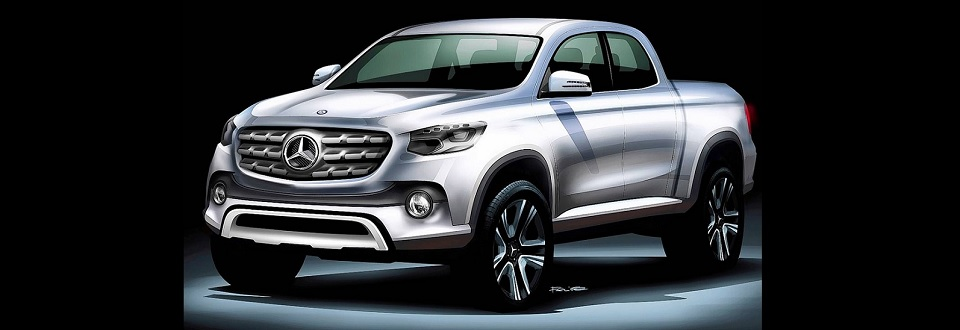 Mercedes-Benz zoomt in op Pickup Concept